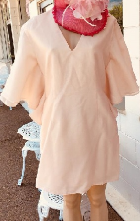 Big Sleeved Mini Dress S10/12