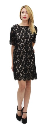 Black InterLace Dress S10/12