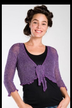 Bolero Satin Purple 8,10,12,14,16