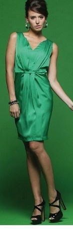 Green Elegant Dress S8/10,12