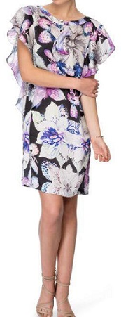 Hibiscus Dress  - print sold out -  Liliac 16,18