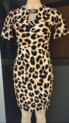 Animal Print bodycon S8,10,12,14
