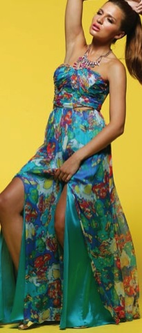 Maxi Tropical Silk S12