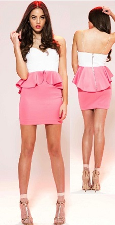 Pink Pepper Dress S10,12,14