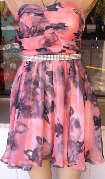 Pink Crush Dress S8/10, 10/12