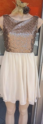 Little Gold Dress S8,10,14