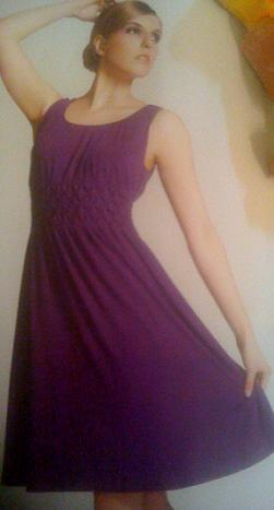 Purple Beaded Top Dress S12/14